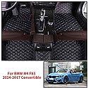 Gummimatten Fußmatten 1.5 cm Rand BMW Serie 4 F32 F33 F36 4-teile Bj.2013-2018