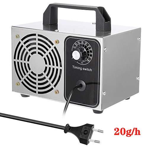 QWWQ Generador De Ozono, 20g/h 220V Generador Ozono Comercial Profesional Portatil, Purificador...