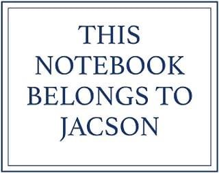This Notebook Belongs to Jacson