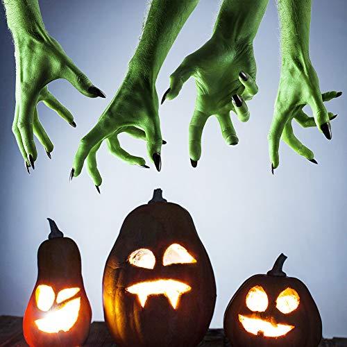 LEUM SHOP Adhesivo de Pared para Halloween con diseo de Horrible, extrable, Pegatina de 5 Manos, decoracin de Fiesta