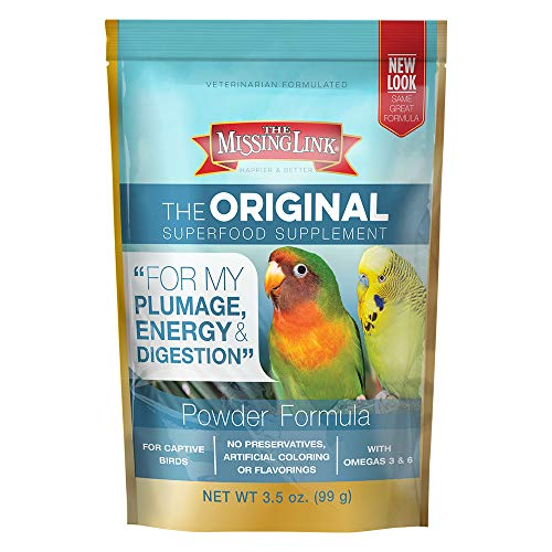 The Missing Link Original Avian Powdered Supplement 3.5 oz. Resealable Bag