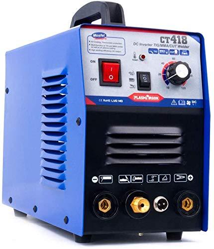 SUSEMSE Plasmaschneider/WIG/MMA/ARC Schweißer Plasma Cutter 3in1 Schweißgerät & Zubehör CT418 220V