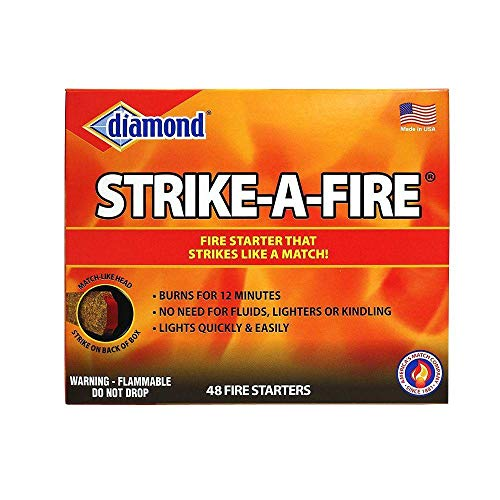 Diamond quotStrike a Firequot Fire Starter Kit 48 count/box  2 box package