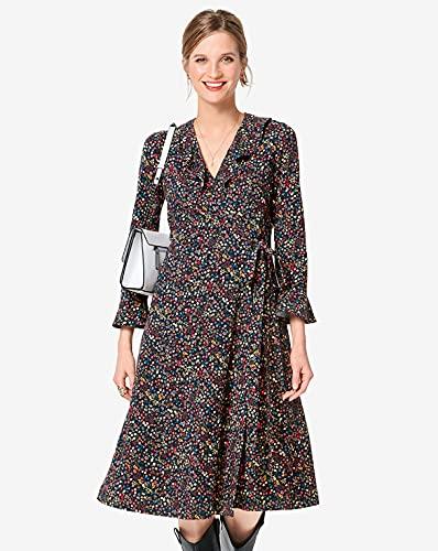 Burda Schnittmuster 6282, Kleider [Damen 34-44] zum selber nähen, ideal für Fortgeschrittene [L3]