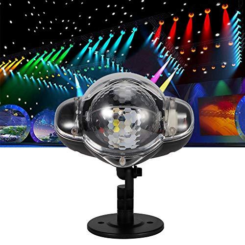 Qinyayoa Lámpara de decoración Lámpara de proyección LED, Luz Nocturna, Hogar para Fiesta Festival al Aire Libre