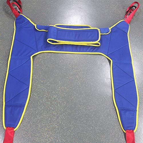 51KzLDZeV6L - WPY Arnés De Elevación De Paciente De Cuerpo Completo, Paciente Cinturón De Transferencia con Ajustable Altura para Posicionamiento Y Elevación De La Cama,Enfermería