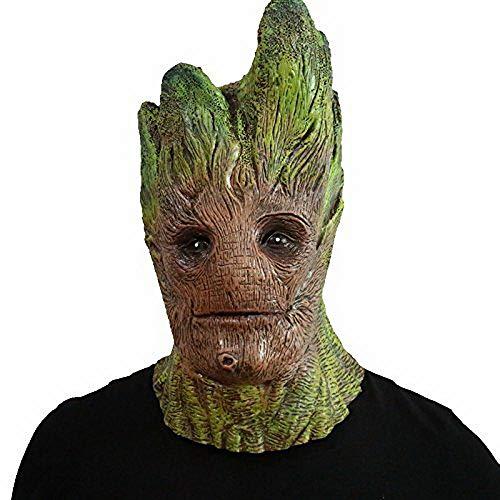 thematys Groot Maske aus dem Filmklassiker - perfekt für Fasching, Karneval & Halloween - Kostüm für Erwachsene - Latex, Unisex Einheitsgröße