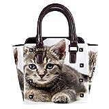 IUBBKI Animal Husky Dog Handbag Lady Tote Bag Bolso bandolera 11x4.3x7.5in
