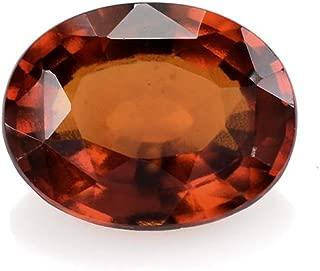 Ratnagarbha 7.25 ratti/Carat Natural Shining gomed hessonite Garnet Gemstone, Astrological use, Certified gomed Stone, Healing Gemstone, Jewelry Making, Wholesale Price.