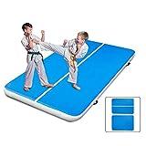 Morffa 300x200x20cm Aufblasbare Gymnastikmatte Air Track Taumelnde Matte für Gymnastic Gym (300 * 200 * 20cm)