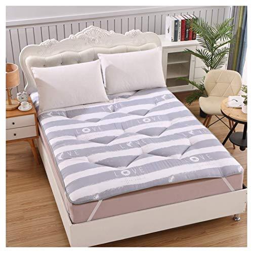 HFMY - Colchón Tatami plegable espesado para dormitorio, estudio, casa, cama, colchón para invitados, colchón de futón, colchón de suelo, 160 x 200 cm (63 x 79 pulgadas)