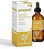 ERBOTECH Propoli (propolis) Gusto più Dolce con Contagocce 30...