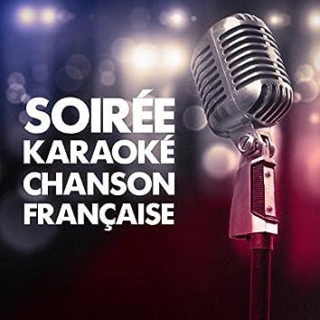 Soirée karaoké chanson française