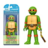 Funko - Figurine Tortue Ninja TMNT Playmobil - Michelangelo 15cm - 0849803084080