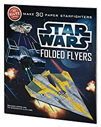 Image: Klutz Star Wars Folded Flyers: Make 30 Paper Starfighters Craft Kit | by Klutz