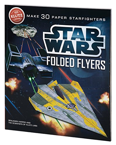 Klutz Star Wars Folded Flyers: Make 30 Paper Starfighters Craft Kit