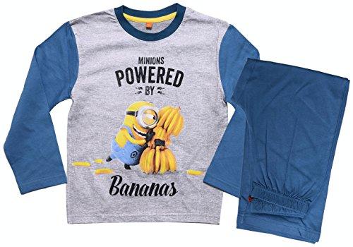 Despicable Me Minions Official Conjunto de pijama para niños y niñas, de 3 a 8 años.