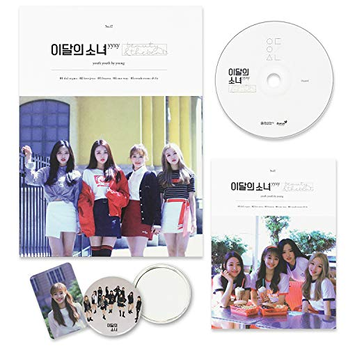LOONA Montly Girl_YYXY Album - BEAUTY&THEBEAT [ Normal ver. ] CD + Photobook + Photocard + FREE GIFT / K-POP Sealed
