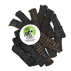 Sancho & Lola's Jerky Dog Treats – Elk, Beef, Venison, Chicken Grain-Free Jerkys – Savory, Small-Batch Limited-Ingredient Rewards for Pups (8oz Kangaroo)