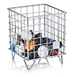 Barista & Co Pod Cage Coffee Capsule Holder, Electric Steel
