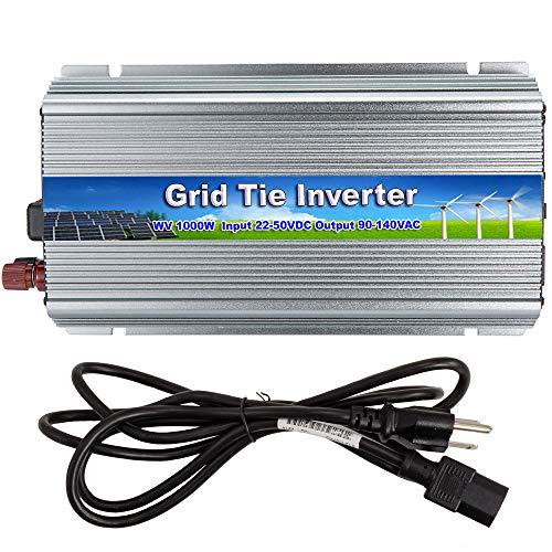 iMeshbean 1000W 110V Grid Tie Inverter 22V ~ 50V DC Input 24V /