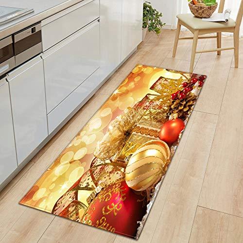 XIAOZHANG Rectangular Rug Creative red gift decoration Crystal velvet Floor Rugs Anti Skid Mats Living Room Bedroom Kitchen 40x60CM