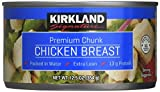 Kirkland Recipes Recettes Premium Chunk Chicken Breast in Water (3 - 12.5oz cans)