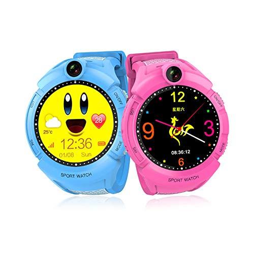 Niños Smart Watch GPS WiFi LBS Ubicación Pantalla Táctil Passometer Reloj de Pulsera Dispositivo Portátil