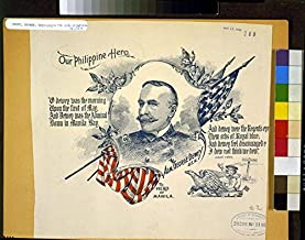Photo: Admiral George Dewey,Spanish American War,Our Philippine Hero,uniform,patriotic
