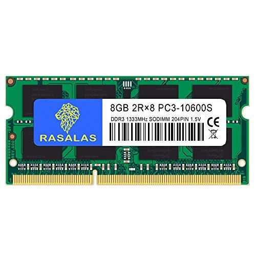 8GB PC3-10600 DDR3 1333MHz 10600S SODIMM CL9 204Pin Non-ECC ノートPC用 メモリ 8GB