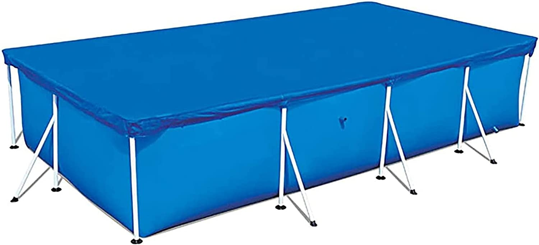KLDDE Cobertor para Piscina Rectangular, Fundas para Piscinas Cubierta De Piscina para El Verano Al Aire Libre, Piscina Desmontable Pool Cover para Piscinas De Marco Familiar (Size : 300 * 200cm)