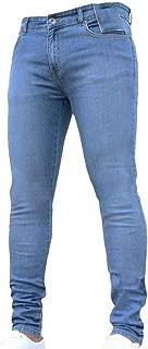 WXKDH Skinny Jeans Pant Casual Trousers Denim Black Jeans