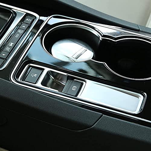 Accesorios del coche Interior electrónico freno de mano Trim Pegatinas para Jag XE F-Pace XF F ritmo 2014 2016 2017 2018