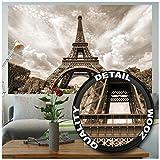 GREAT ART XXL Poster – Eifelturm – Wandbild Dekoration