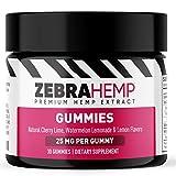 ZEBRA HEMP Premium Gummies – USA Made - Pure Organic Oil for Anxiety, Pain & Stress Relief, Sleep and Mood Support– 750 mg