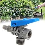 Piezas de los interruptores de manija Ajustable de la Boquilla de pulverización de Niebla Equipo de fumigación agrícola Atomización de jardín para riego de Jardines