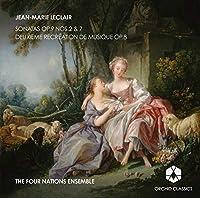 ジャン=マリー・ルクレール:ソナタ集・音楽の慰め 第2集(JEAN-MARIE LECLAIR:Sonatas Op.9 Nos.2 & 7/Deuxieme Re'cre'ation de Musique Op.8)