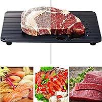 解凍プレート 解凍プレート高速解凍トレイ解凍冷凍食品肉フルーツクイック解凍プレートボード解凍キッチンガジェットツール-23X16.5X0.2Cm