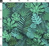 Tropisch, Pflanzen, Blätter, Sommer, Dschungel, Blatt,