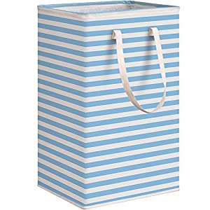 WISELIFE Laundry Hamper, 75L Large Collapsible Tal...