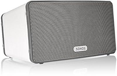 Sonos Play:3 Lettore All-in-One, Wireless, Controllabile da Smartphone, Tablet e PC, Nero