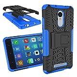 BCIT XiaoMi RedMi Note 3/Note 2 Pro Cover - Alta calidad Escabroso Durable Estuche protector TPU/PC funda carcasa case para XiaoMi RedMi Note 3/Note 2 Pro - Azul
