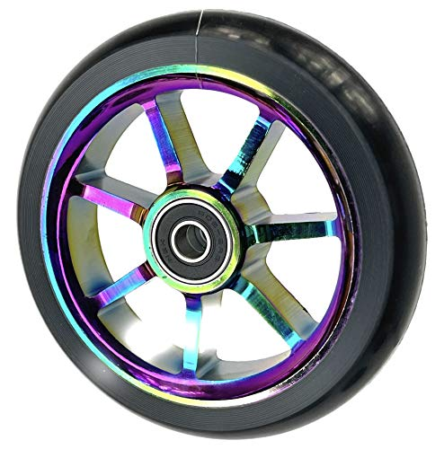 Ethic DTC Incube Rainbow Rueda Scooter Completo (100mm - Rainbow)