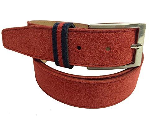 YOJAN PIEL | Cinturón de Cuero PIEL de Ubrique | Ajustable a su Medida Cómodo y Elegante Para Hombre | Ideal para Regalo y para Eventos Formales | Gran Acabado, Resistencia y Durabilidad