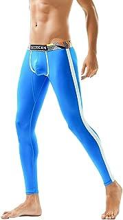 OHQ Pantalones De Ch/áNdal Hombres Polainas Oto/ñO Invierno Estampados Camuflaje Largos Leggings Algod/óN Deportivos Calzoncillos Largos Johns