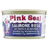 Pink Seal - Salmone Rosa del Pacifico, al Naturale - 213 g