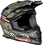 O'Neal Unisex-Adult Off-Road Style 5 SRS Wingman Helmet MTL/WHT XXL (Metal/White,