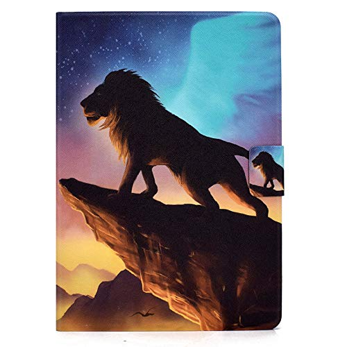 JIan Ying Case for Samsung Galaxy Tab A 8.0 (2019) SM-T290 SM-T295 Slim Lightweight Protective Protector Cover The Lion King