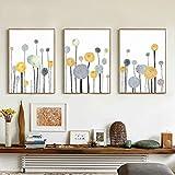 bdrsjdsb Moderne Abstrakte Baum Gedruckt Poster Home Cafe Wohnzimmer Ungerahmt Leinwand Malerei Dekor 3# 21 cm x 30 cm -