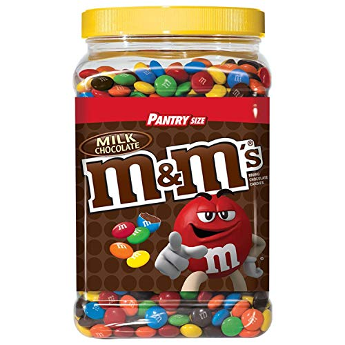 3lbs of M&M's